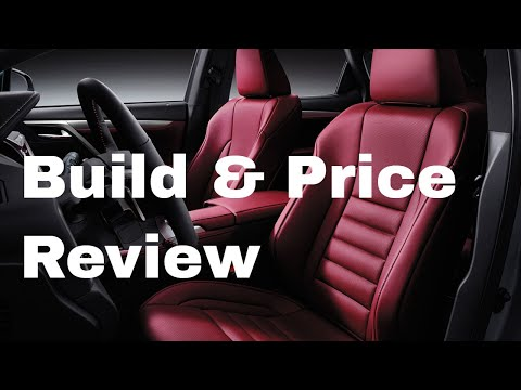 2019 Lexus RX 350 F Sport AWD SUV - Build & Price Review: Colors, Interior, Packages, Technology