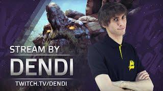 Dota 2 Stream: Na`Vi Dendi playing Tiny (So close...)