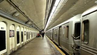 IND Subway: Brooklyn Bound R46 (A) Train at W. 190th Street