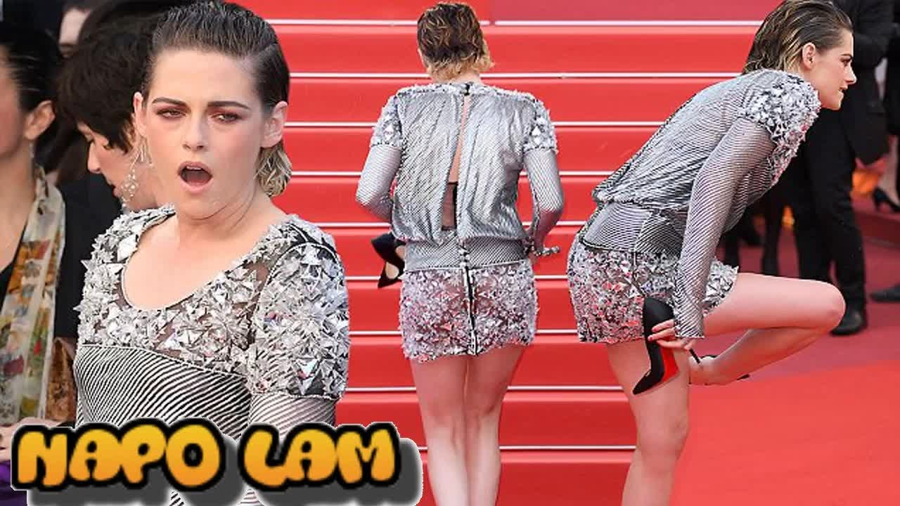ad684d01 Kristen Stewart rebels against Cannes' 'no flats' policy on red carpet