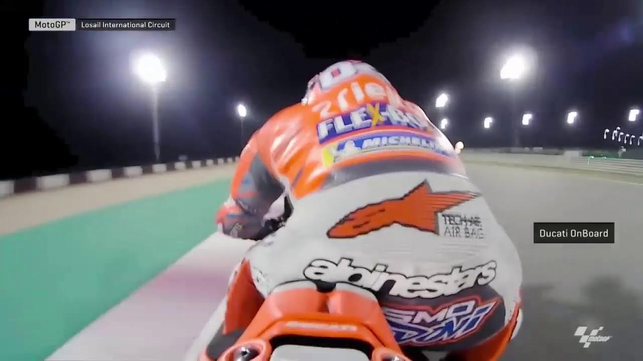 Ganas! Aksi Menakjubkan Rider Moto GP Grand Prix Qatar Sirkuit Losail 2018