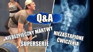 CZY 14-LATEK MOŻE ROBIĆ MARTWY CIĄG? *Q&A*