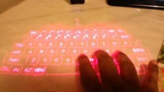 Magic Cube Laser keyboard