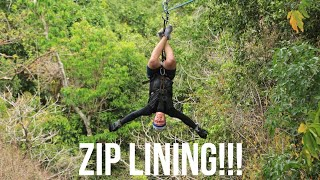Zip Lining In The Jungle Pt. 3 | Liam Peterson