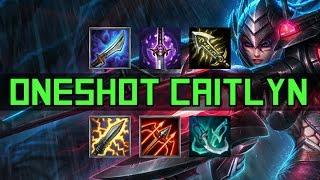 Oneshot Caitlyn (das einzig wahre Caitlyn Build) - League Clips   League of Legends