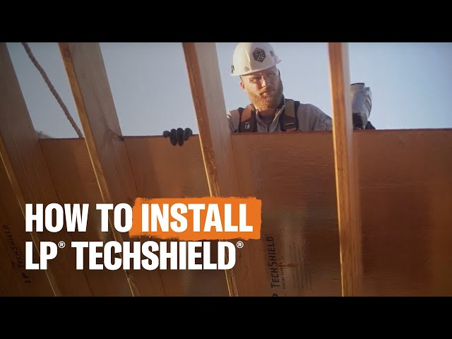 LP® TechShield® Radiant Barrier Installation Process