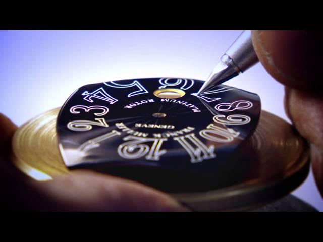 FRANCK MULLER Craftsmanship Making a Dial