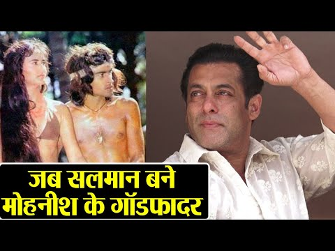 Salman Khan when become the Godfather of this big Bollywood actor  FilmiBeat