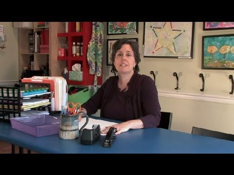 Teacher's Desk Organization Tips : Organization Tips