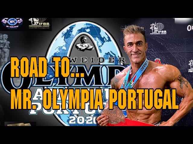 ROAD TO MR. OLYMPIA AMATEUR PORTUGAL 2020 VIDA-ALIMENTACIÓN-ENTRENAMIENTO-COMPETICION