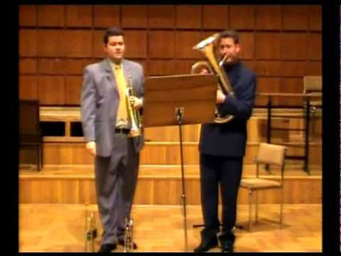 Domokos - Concertino for Trumpet,Trombone and Organ 2005, II.Dream