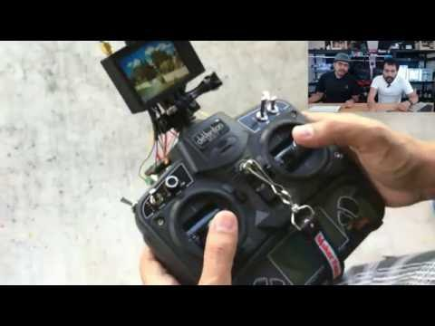 3D Hangouts LIVE - Pi Internet Radio, Mini FPV and Dronies