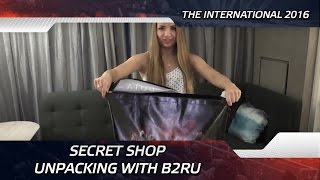 Secret shop unpacking with b2ru @ The International 2016 (ENG SUBS!)