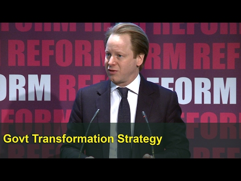 Government at your service: Ben Gummer speech at Reform 2017