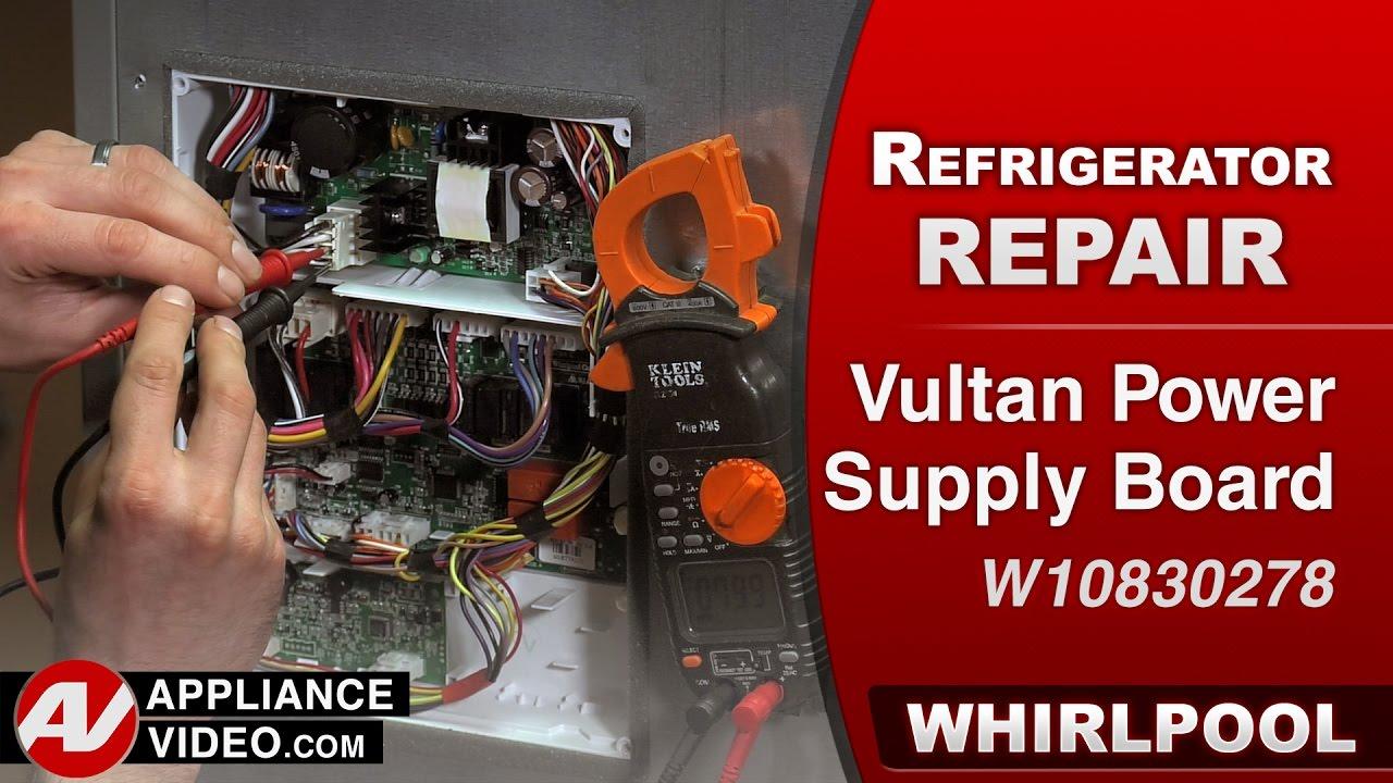 Whirlpool Maytag Kitchenaid Vultan Power Supply Circuit Control Isolatedfeedbackpowersupply Powersupplycircuit Board Diagnostic Repair