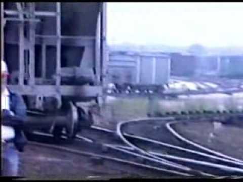 SOO LINE BENSENVILLE RAILROAD YARD 1986