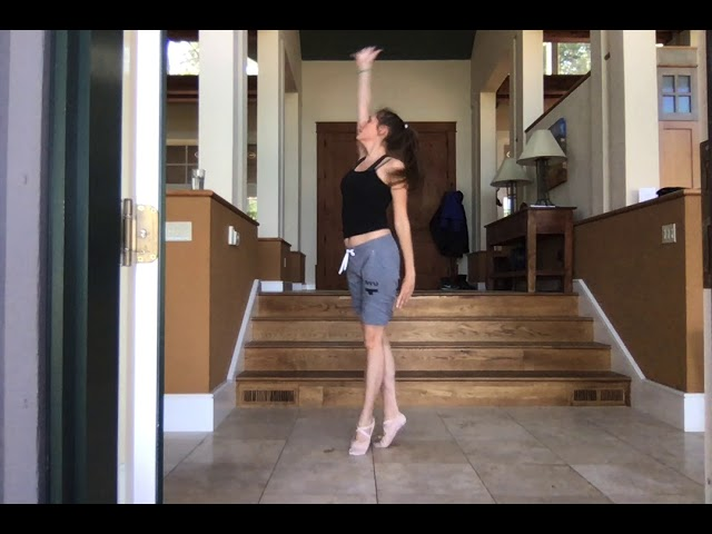 "Self-choreographed piece to ""I See Fire"" by Ed Sheeran"
