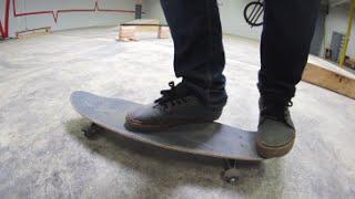 Triple Kickflip On A Cruiser Board!?