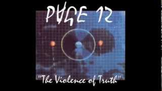 "PAGE 12 - ""No Bitter Truth""  [Album: The Violence of Truth, 1993]"