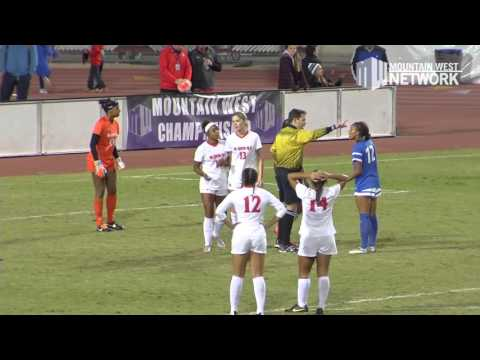 Highlights - San José State Tops Defending Champion Aztecs for First MW Title