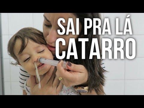 Nariz entupido: como tratar resfriado infantil | limpeza nasal com soro