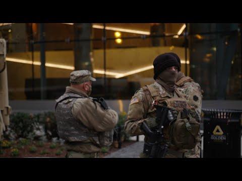Washington is een militaire vesting voor de inauguratie van Joe Biden