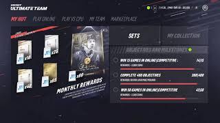 *NEW* 94 OVR STAN MIKITA LEGEND CARD IN NHL 19 HUT!