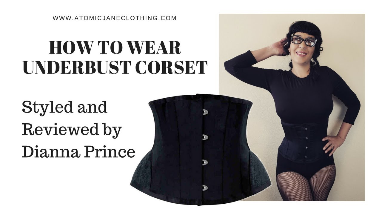 Corset underbust how to wear forecast dress in summer in 2019