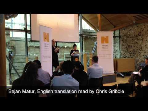 Bejan Matur reads at Worlds Literature Festival
