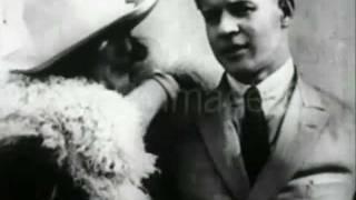 Кинохроника с С.Есениным