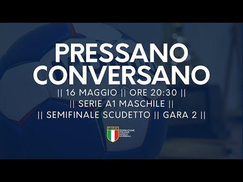 Serie A1M [Semifinale G2]: Pressano - Conversano 26-24