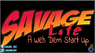 Savage - A Weh Dem Start Up (Gully Side Diss) [War Summer Riddim] June 2012
