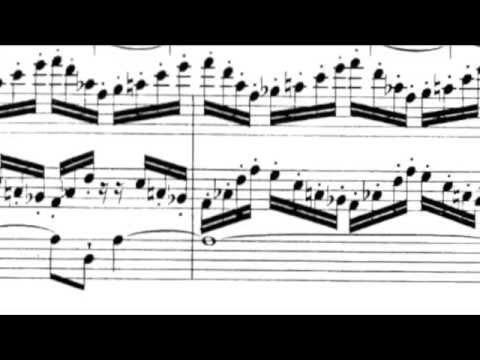 Organ Symphony no. 5 ~ Charles Marie Widor ~ Mvt I (sheet music) Allegro Vivace - Lento