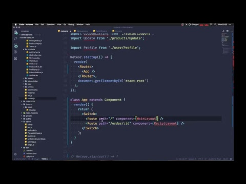 Live Coding With Level Up Tuts - Upgrading To React Router 4