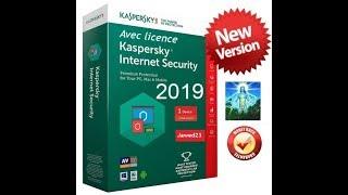 Kaspersky Internet Security 2019 + licence valide jusqu'en 2020 [TUTO]