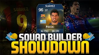 SQUAD BUILDER SHOWDOWN TOTS SUAREZ!!!! FIFA 15 ULTIMATE TEAM