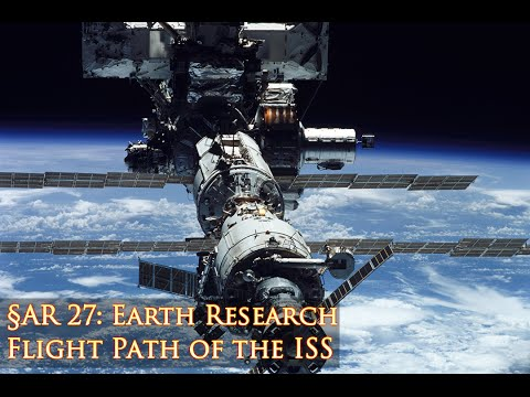 Flight Path of the ISS - Flat Earth