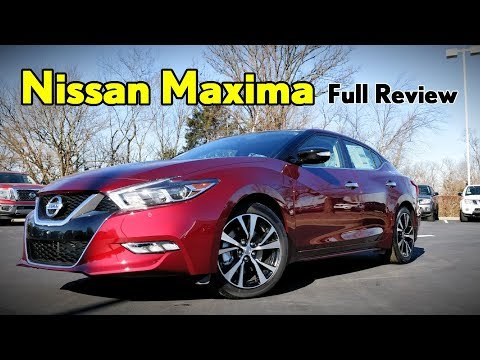 2018 Nissan Maxima: FULL REVIEW | Platinum, SR Midnight Edition, SL, SV & S