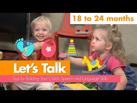 Let's Talk: 18 to 24 Months