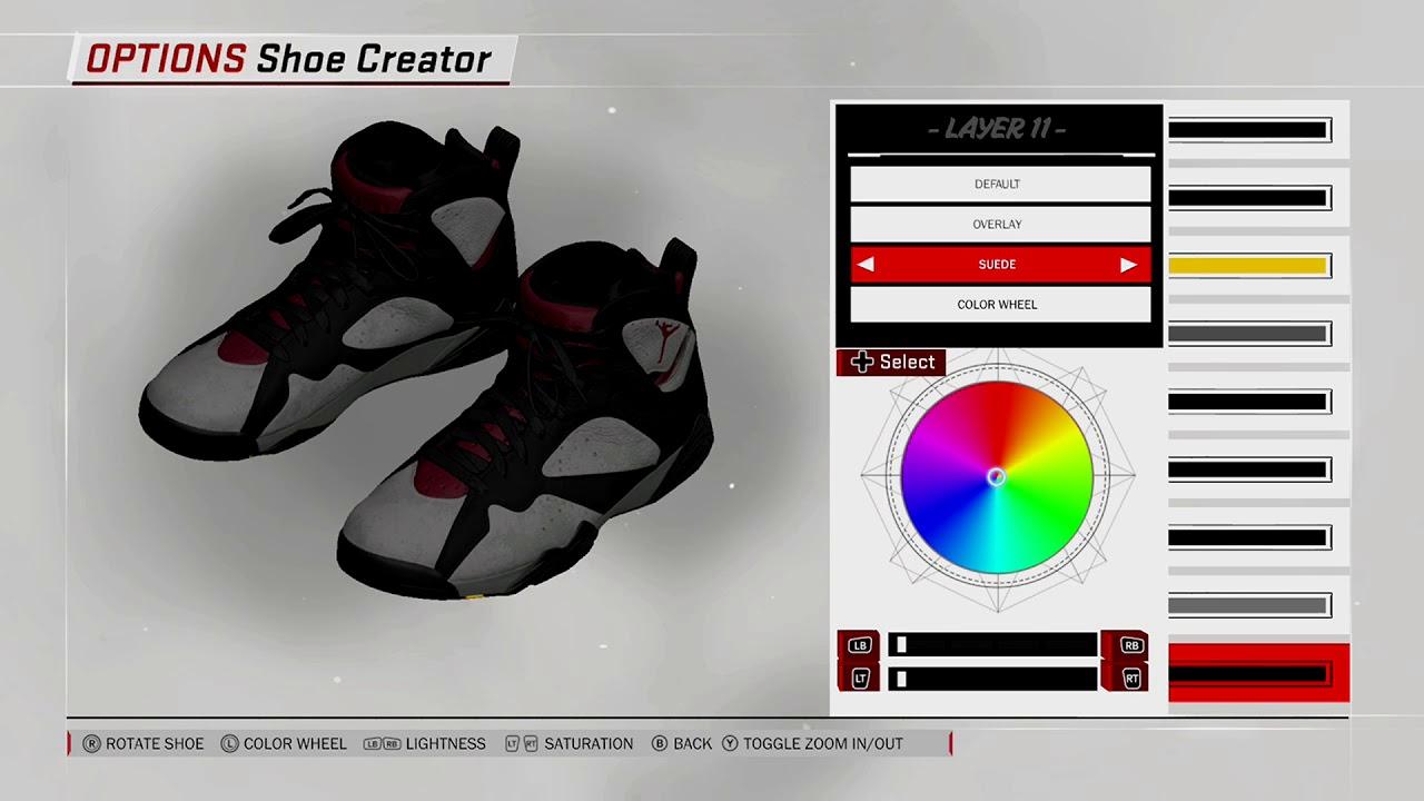 ... low price nba 2k18 shoe creator air jordan 7 bordeaux 3b310 e470e 9e8844681