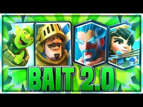 TOP LADDER PUSHING With The NEW LOG BAIT!? OP New Deck!