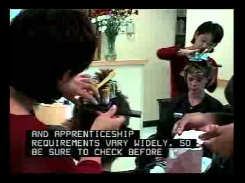 Hairdresser Job Description - YouTube