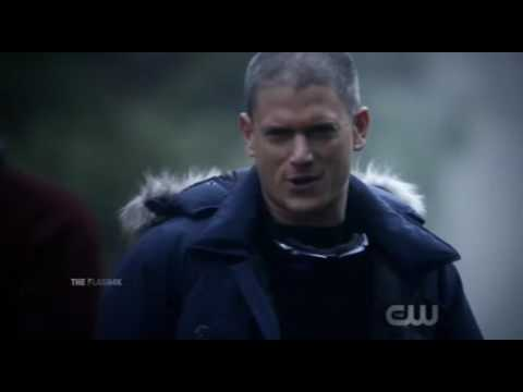 The Flash 3x22 Barry travels back in time to get Captain Cold