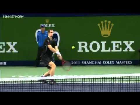 Murray, Ferrer Advance In Shanghai Semi-final Highlights