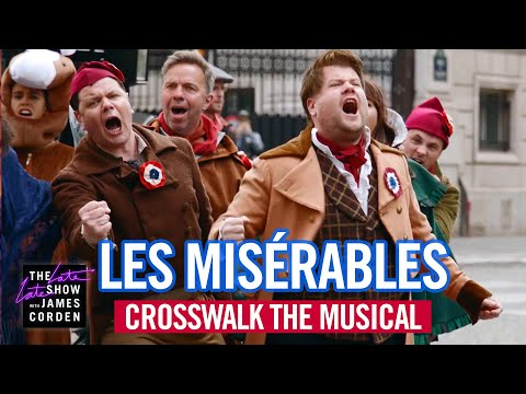 'The Late Late Show' And James Corden Do Crosswalk 'Les Misérables' – Deadline