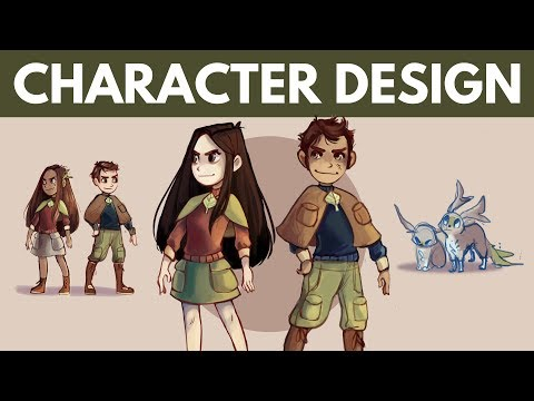 How to Design Characters // 6 Tips & Tricks!