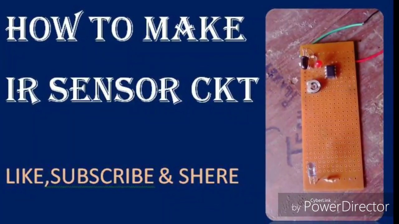 How To Make Ir Sensor Circuit Lm358 Ic Connection Diagram Youtube