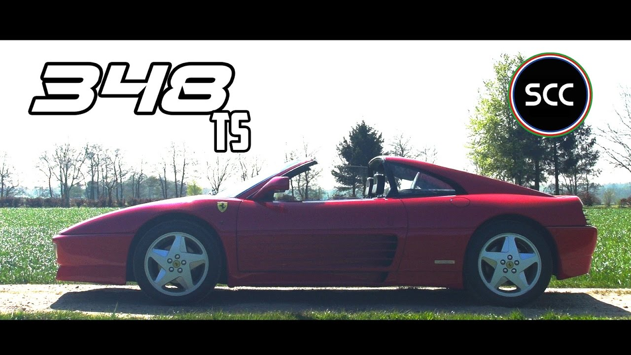 ferrari 348 ts test drive in top gear cabriolet v8 engine sounds scc tv youtube. Black Bedroom Furniture Sets. Home Design Ideas