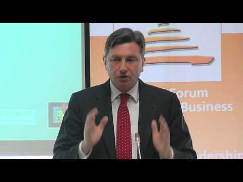 WFEB 2012 - Slovenia - H.E. Mr Borut Pahor - President, Republic of Slovenia