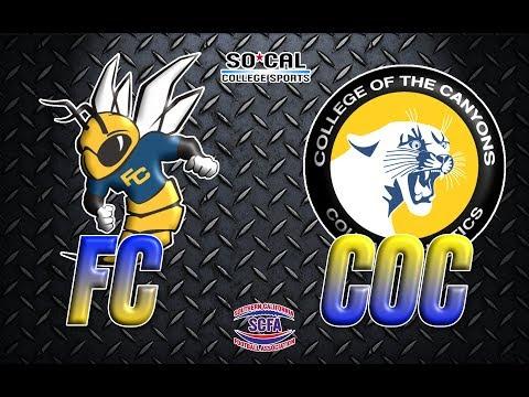 SCFA Football Week 3: Fullerton at Canyons - 9/16 - 6pm